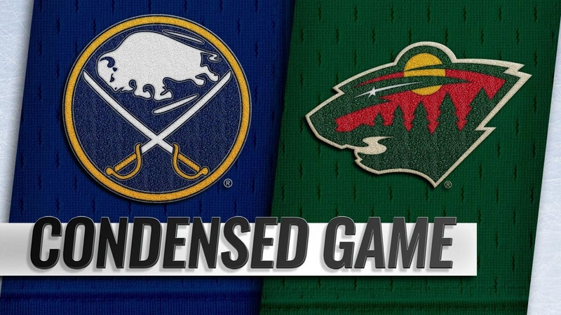 111718 Condensed Game Sabres @ Wild
