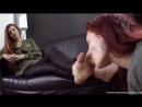 Goddess Victoria Фут фетиш рабыня вылизывает туфли и ноги girl slave licking shoe feet footworship