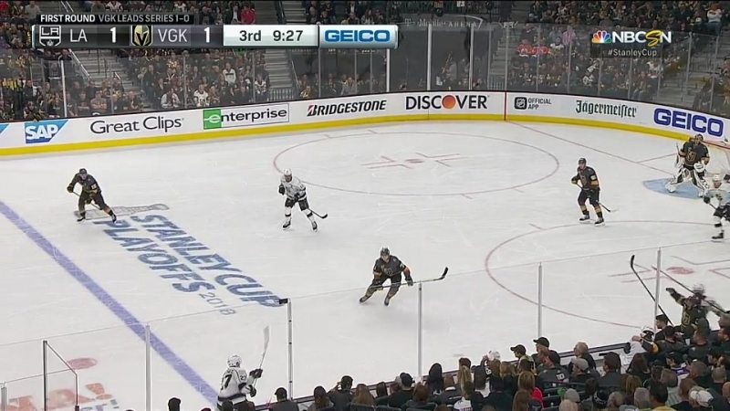 Los Angeles Kings vs Vegas Golden Knights 13 04 2018 Round 1 Game 2 NHL Stanley Cup Playoffs 2018