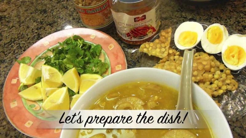 Mohinga (Noodle Soup) | Sweet Violets Burmese Cuisine