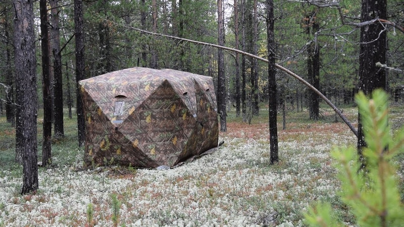 Палатка Куб Ex-Pro Winter 2 обзор