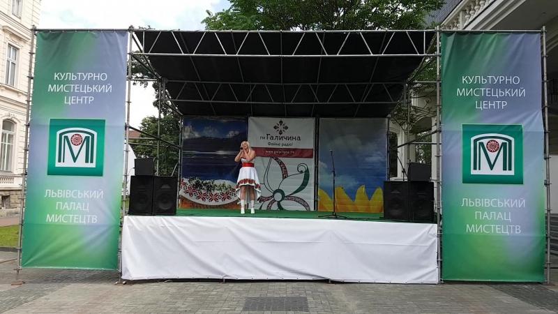 Концерт на фестивалі свята Вишиванка.