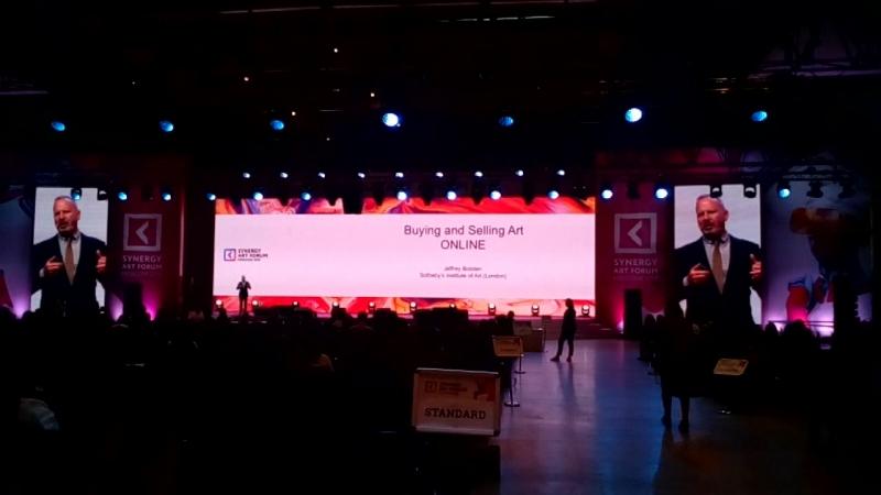 Джеффри Болотен Synergy art forum Moscow 2018_20 may (ч.1)