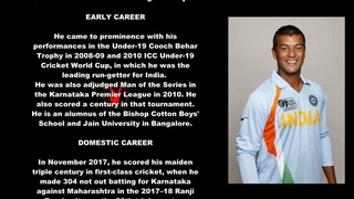 Mayank Agarwal Indian Cricketer Biography With Detail