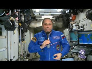 Командир 55-й Международной космической станции Антон Шкаплеров