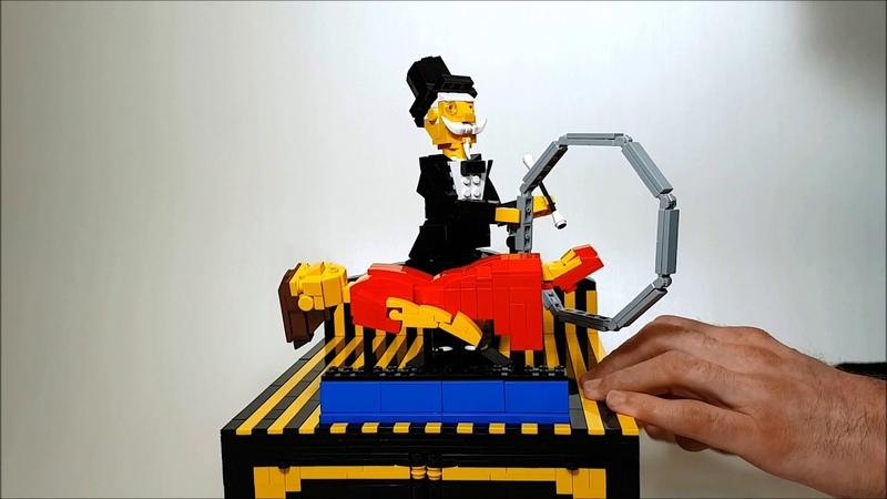 Illusionist a LEGO automaton