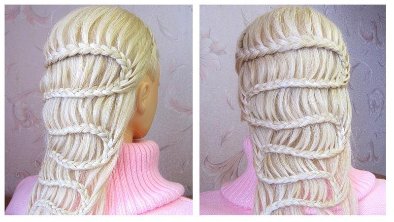 Tuto coiffure simple pour tous les jours ⚡️ Tresse zig zag / serpent ⚡️ facile à faire