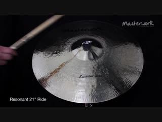 Masterwork Resonant 21 Ride