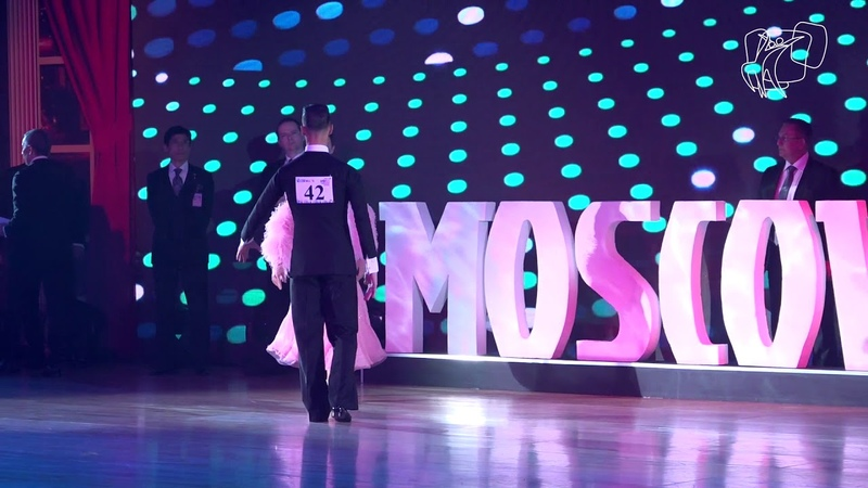2018 PD World Championship STD Final Moscow RUS DanceSport Total