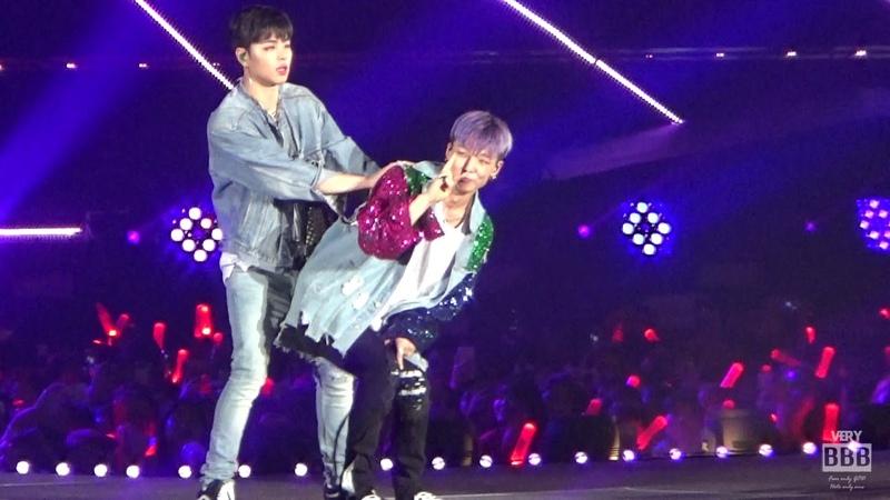 180818 아이콘 (iKON) CONTINUE TOUR 서울콘서트 베스트프렌드 바비 (BOBBY) FOCUS 직캠