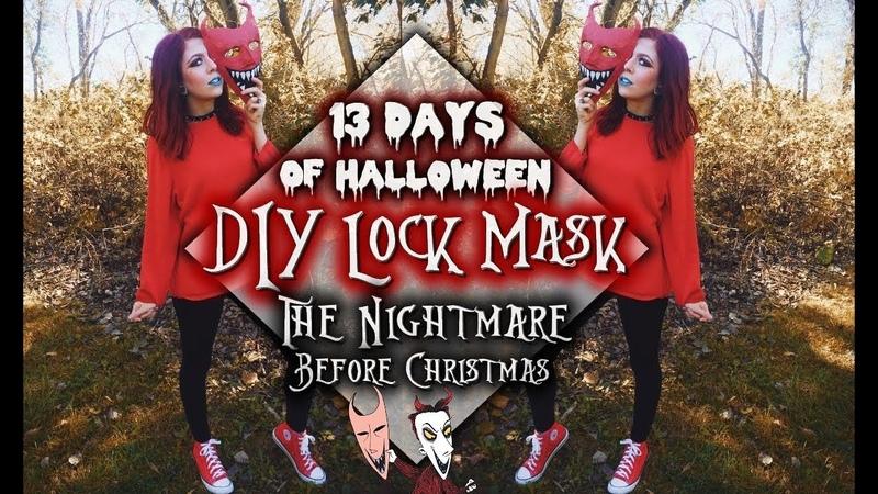 13 Days of Halloween | Lock Mask Tutorial