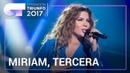 Miriam consigue la tercera posición en OT 2017 OTFinal