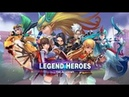 Legend Heroes The Academy android game first look gameplay español