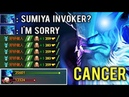 CANCER MID IS BACK Delete Sumiya Invoker Mid Epic Pro Gameplay Top China Rank 7.20 Dota 2