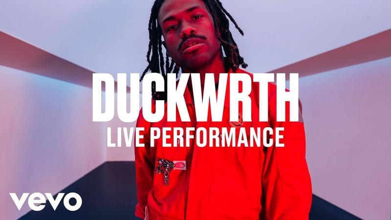 Duckwrth - Fall Back (Live) | Vevo DSCVR