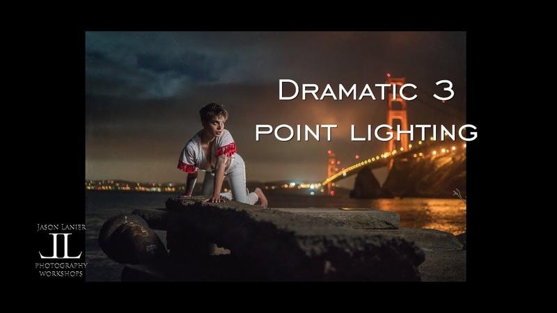 EPIC Dramatic 3 Point Lighting Shoot using the Rotolight Explorer Kit at the Golden Gate Bridge