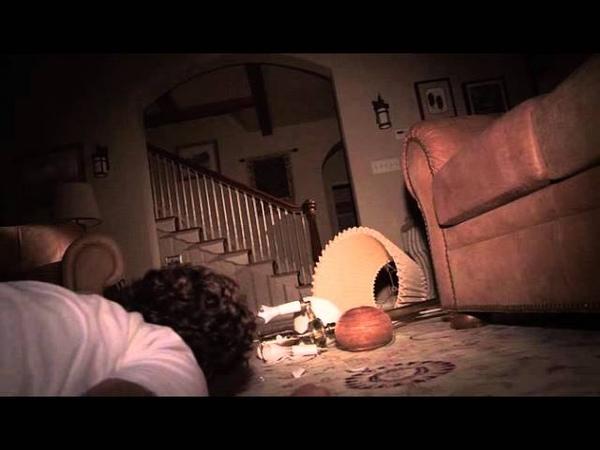 Paranormal Activity 3 - Dennis's Death/Ending