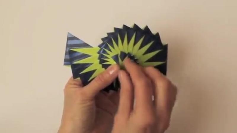 Кинетическое оригами