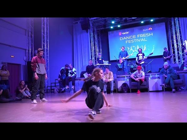 Vika vs Milynia 1/4 bgirl battle Dance Fresh