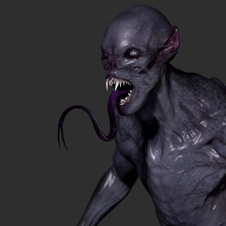 """@jsmarantz on Instagram: """"aswang design for grimm season 2. This was a pretty fast turnaround on this wesen. Modeled him in zbrush and it was..."""
