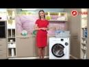 Видеообзор стиральной машины Hotpoint Ariston RSM 601 W RST 601 W с экспертом М Видео