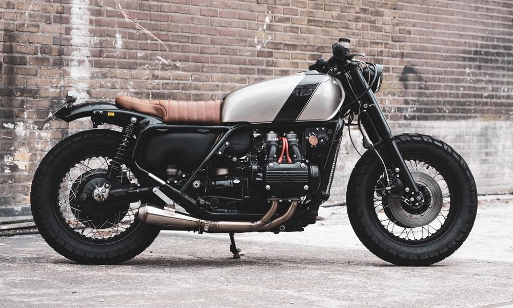 RH Motorcycles: кастом Honda GL1000 Goldwing AREAGE «Gravel Express»