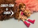 Обзор новой куклы Enchantimals Кейли Кау и телёнок Кардл. Cailey Cow and Curdl