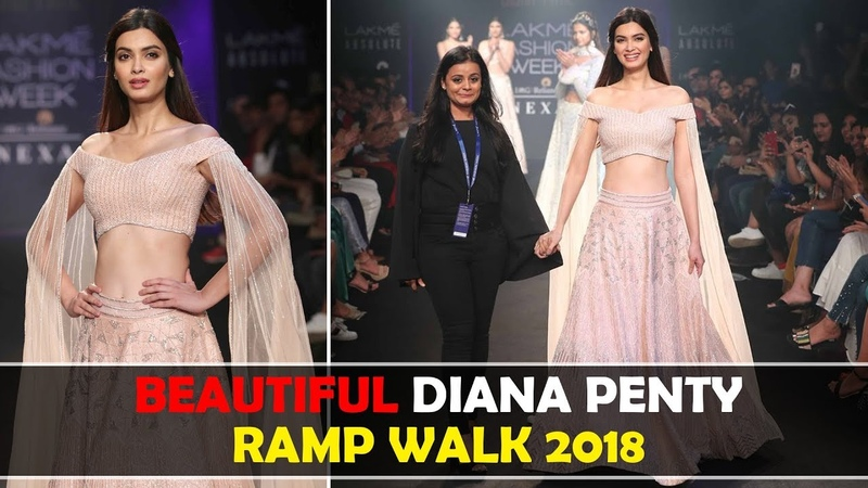 Diana Penty RAMP WALK 2018 | Lakme Fashion Week 2018 | LFW Ramp Walk 2018