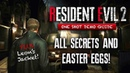 Resident Evil 2 Remake Demo ALL SECRETS Easter Eggs You May Have Missed   Leon's Jacket More!