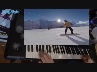KorgStyle А Дрюня - Зимний вечер (Korg Pa 600) RussianDisco 80