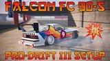 CXDR2 Falcon FC 90-S Pro-Drift III Custom Setup (Mazda RX-7 FC)  CarX Drift Racing 2