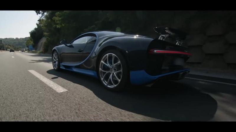 Тест-драйв Bugatti Chiron за ₽ 210 млн в Ницце | DCT OFF