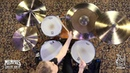 Sabian 22 AAX OMNI Cymbal 2642g Played by Kayleigh Moyer 222OMX 1082113D