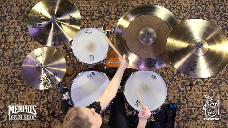 Sabian 22 AAX OMNI Cymbal - 2642g - Played by Kayleigh Moyer (222OMX-1082113D)
