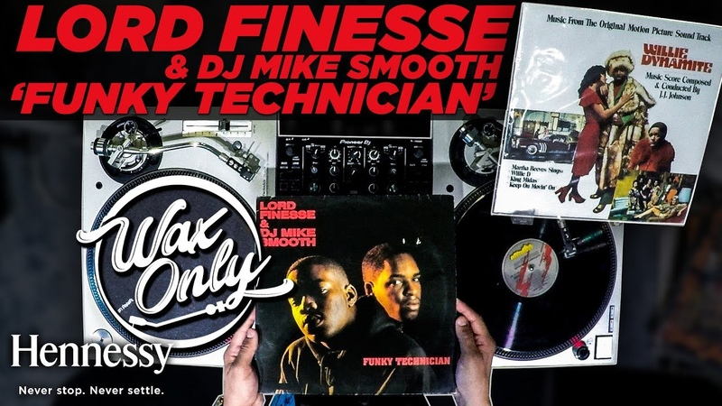 Discover Samples On Lord Finesse's 'Funky Technician' WaxOnly