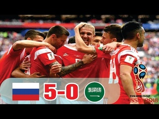 Russia vs Saudi Arabia (5-0)highlights and resumen goles (14-6-18)|world cup russia