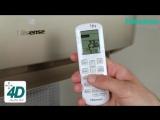 Обзор кондиционера Hisense серии Premium CHAMPAGNE SUPER DC Inverter