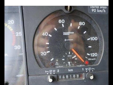 Скорость без ограничения с помощью магнита Scania 124 Top Speed