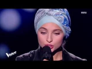 منال ابتسام من سوريا 💛💚 لما بدأت تغني عربي لجنة التحكيم بدون اي حركه