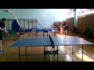 игра за 1-2 место: Сундуков Евгений (Дебесы)- Ильин Николай (Алнаши)