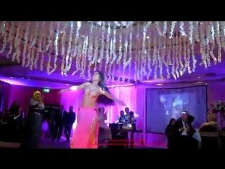 Dina's magency choreography, Cairo wedding.   الراقصة دينا 23034