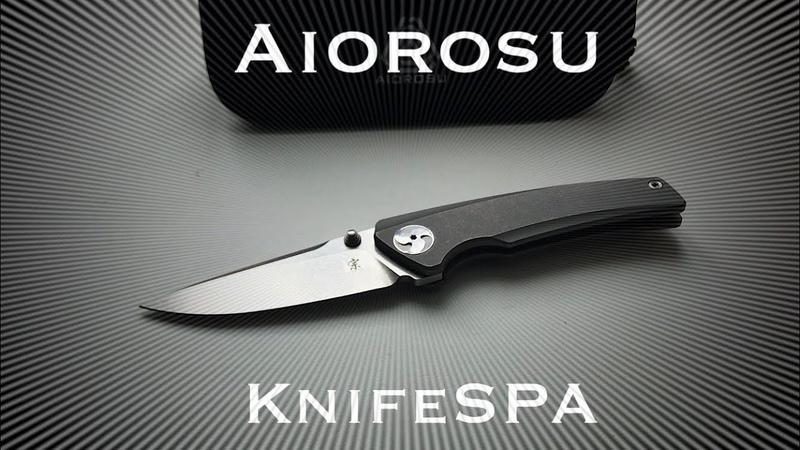 Aiorosu Zong компактный нож и ничего лишнего Knife SPA