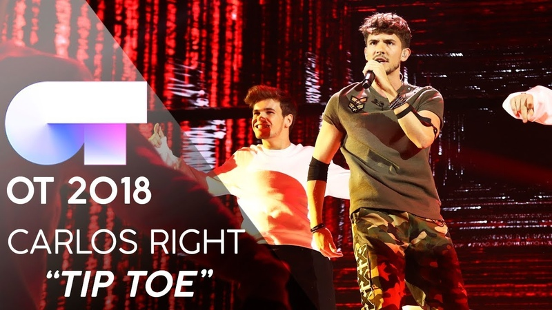 TIP TOE - CARLOS RIGHT | Gala 5 | OT 2018