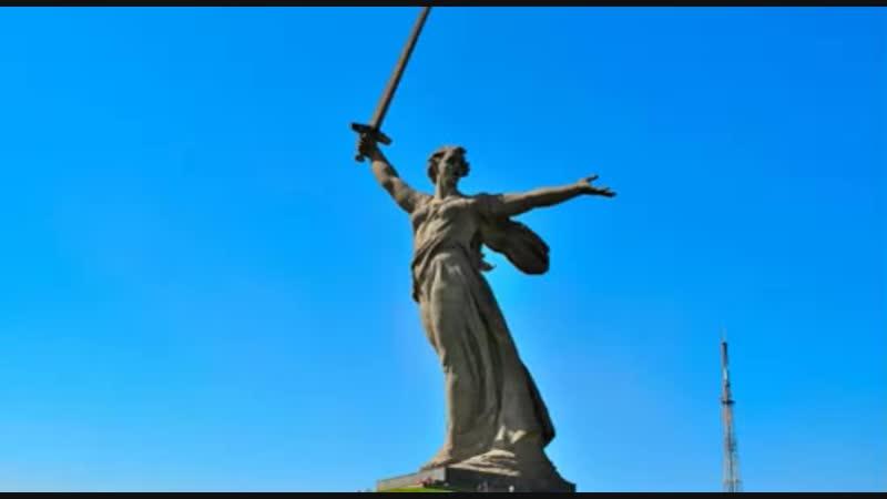 Родина мать зовет чьи лицо и фигуру позаимствовали для знаменитого монумента