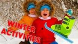5 Winter Activities For Kids!