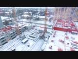 Ход строительства / 29.01.19 / ЖК«Белые росы»