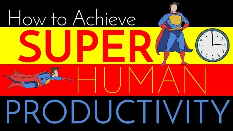 Super Human Productivity Efficiency | Tips from a Surgeon