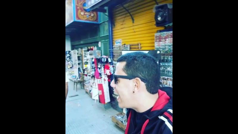 Hino do galão em Buenos Aires