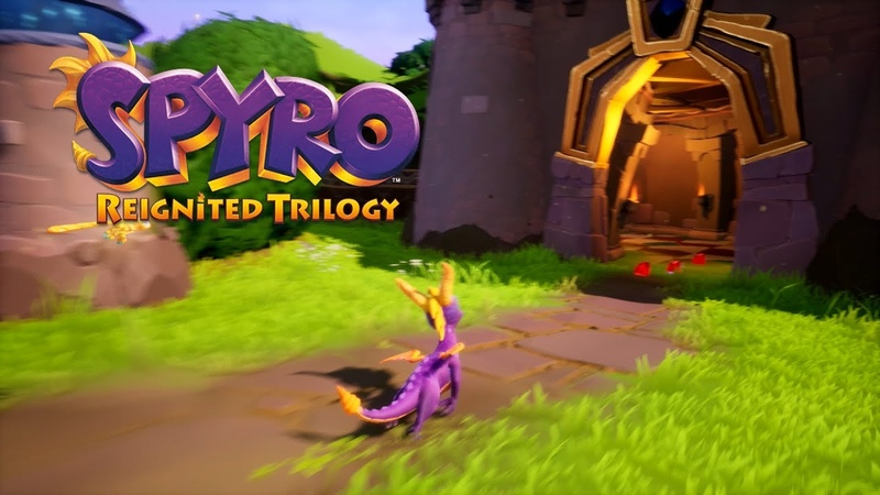 Spyro Reignited Trilogy - Artisans E3 2018 B-Roll Gameplay