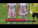 В Турции футболист пронес лезвие бритвы на матч и пару раз